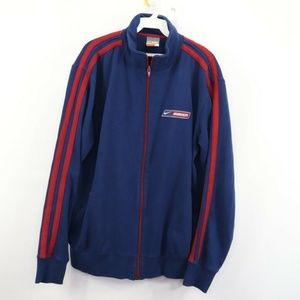 Vintage Nike Bauer Spell Out USA Hockey Jacket L